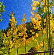 Arizona Autumn Ver 2 Art Print