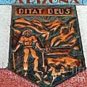 Arizona Ditat Deus Art Print