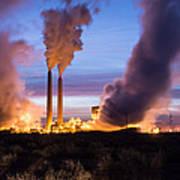 Arizona Power Plant Art Print