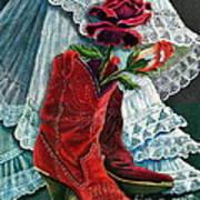 Arizona Rose Art Print