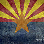 Arizona State Flag Art Print