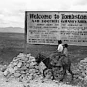 Arizona Tombstone, 1937 Art Print