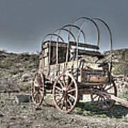 Arizona Wagon Art Print