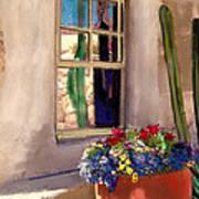 Arizona Window Art Print