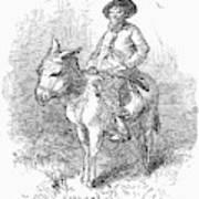 Arkansas Traveler, 1878 Art Print