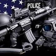 Arlington County Police Art Print