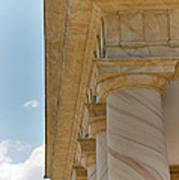 Arlington National Cemetery - Arlington House - 12121 Print by DC Photographer