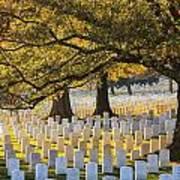 Arlington National Cemetery Washington Dc Art Print