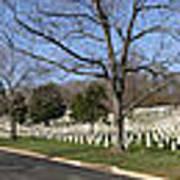 Arlington National Cemetery Panorama 2 Art Print by Metro DC Photography