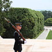 Arlington National Cemetery - Tomb Of The Unknown Soldier - 01135 Art Print by DC Photographer