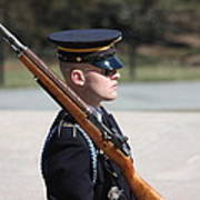 Arlington National Cemetery - Tomb Of The Unknown Soldier - 121219 Art Print by DC Photographer