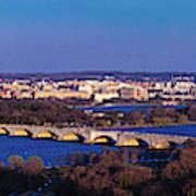 Arlington, Va - Wash D.c. - Panoramic Art Print