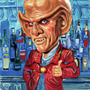 Armin Shimerman As Quark Art Print