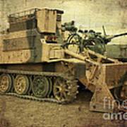 Armoured Power  Art Print