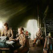 Army - Administration Art Print