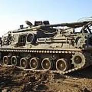 Army Tank Art Print