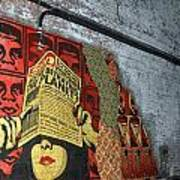 Arnolds And Graffiti Andre The Giant Has A Posse Art Print