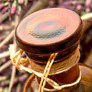 Aromatherapy Bottle Art Print by Olivier Le Queinec