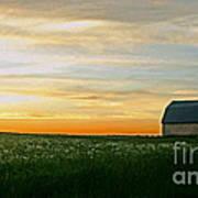 Aroostook Sunset Art Print