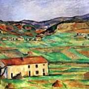 Around Gardanne By Cezanne Art Print