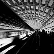 Arriving Metro Art Print