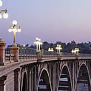 Arroyo Seco Bridge Pasadena Art Print