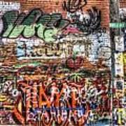 Art Alley Art Print