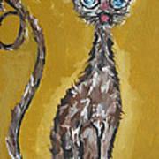 Cat Art Art Print