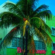 Art Deco Boulevard Hotel Miami Art Print