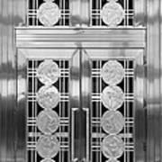 Art Deco Door 2 Art Print