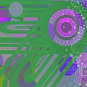 Art Deco Explosion 3 Art Print