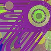 Art Deco Explosion 6 Art Print