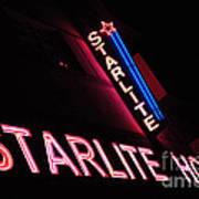 Starlite Hotel Art Deco District Miami 3 Art Print