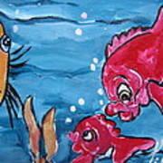 Fish Art Art Print
