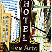 Art Hotel Art Print