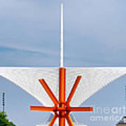 The Milwaukee Art Museum By Santiago Calatrava Art Print