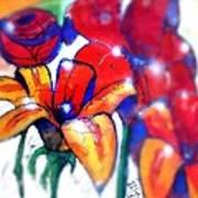 Art In The Eyes 3 Art Print