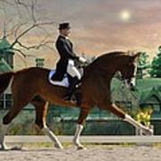 Art Of Dressage Art Print