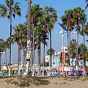 Art Of Venice Beach Art Print