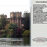 Art Or Architecture? Art Print