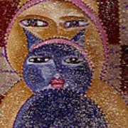 Art Picasso Cats Art Print