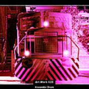 Art Work 123 Locomotive Art Print
