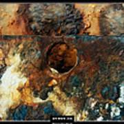 Art Work 206 Ship Rust Art Print