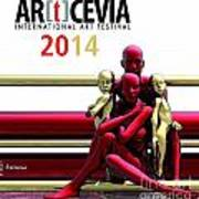 Artcevia International Art Festival - 2014 Art Print