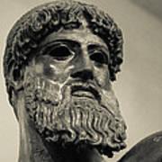 Artemision Zeus Art Print