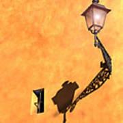 Artful Street Lamp Art Print