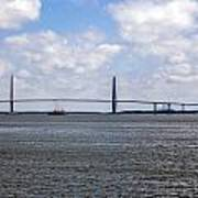 Arthur Ravenel Bridge Art Print