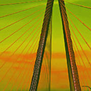 Arthur Ravenel Jr Bridge V Art Print