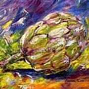 Artichoke Art Print by Barbara Pirkle