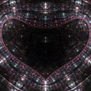 Artificial Heart Art Print